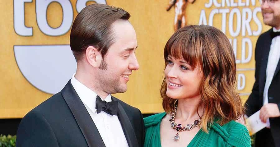Vincent Kartheiser and Alexis Bledel
