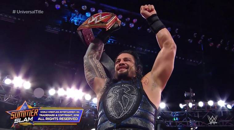 Roman Reigns Win WWE UC